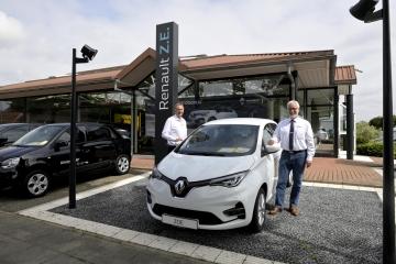 Renault ZOE 24 Stunden Probefahrt kostenlos Jetzt Elektromobilität live erleben!