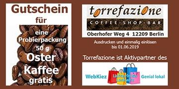 Ostergutschein Probierpackung gratis Osterkaffee