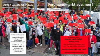 Ferdinandmarkt am Kranoldplatz