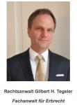 Rechtsanwalt  Gilbert H. Tegeler