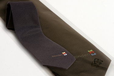 Krawatte mit Minden-Logo
