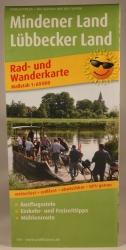 Radwanderkarte Mindener- u. Lübbecker Land