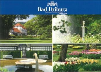 Verschiedene Postkarten von Bad Driburg