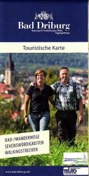 Touristische Karte, 1 : 20 000