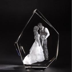 3D Laser Foto Eisberg XL